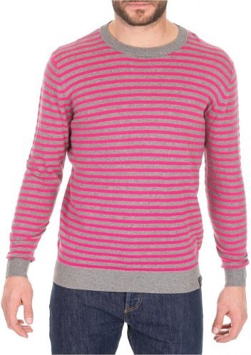 Scotch & Soda GesteepteTrui 149101 Roze Grijs