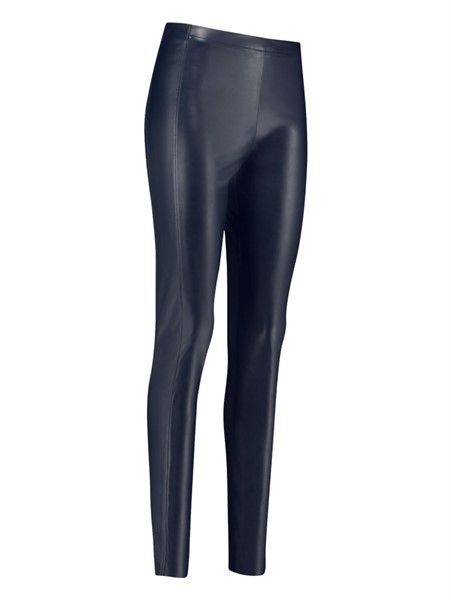 Studio Anneloes Ally faux leather legging blauw