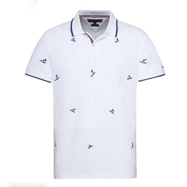 Tommy Hilfiger T-shirt All over embroidery