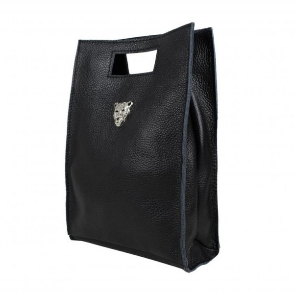 Baggyshop Schoudertas 0507 Tiger Bag Zwart