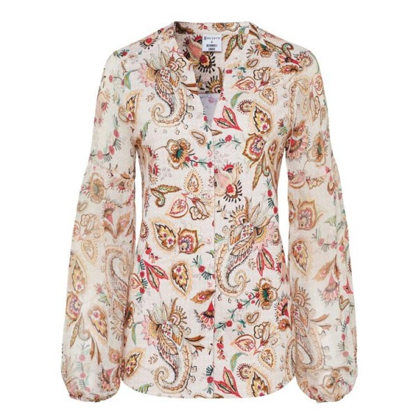 Desoto Damesblouse Paisley 42056.847 Off White