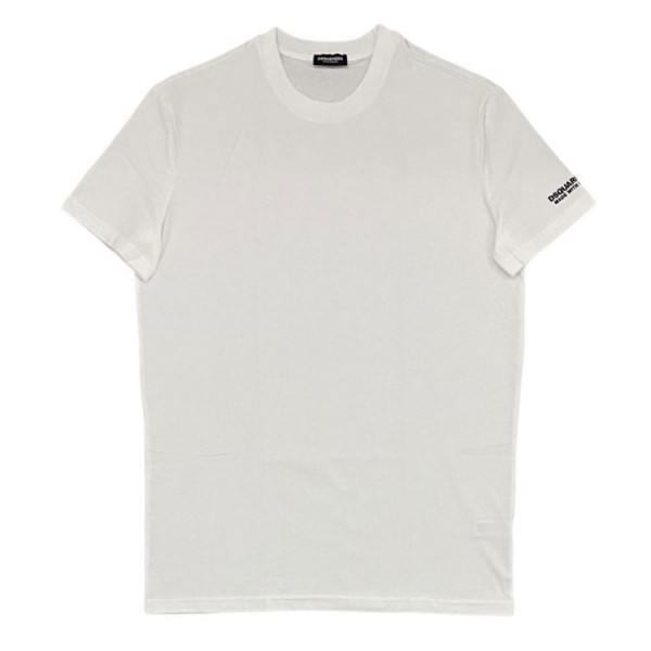 Dsquared2 With Love Tshirt D9M203520 Effen Wit