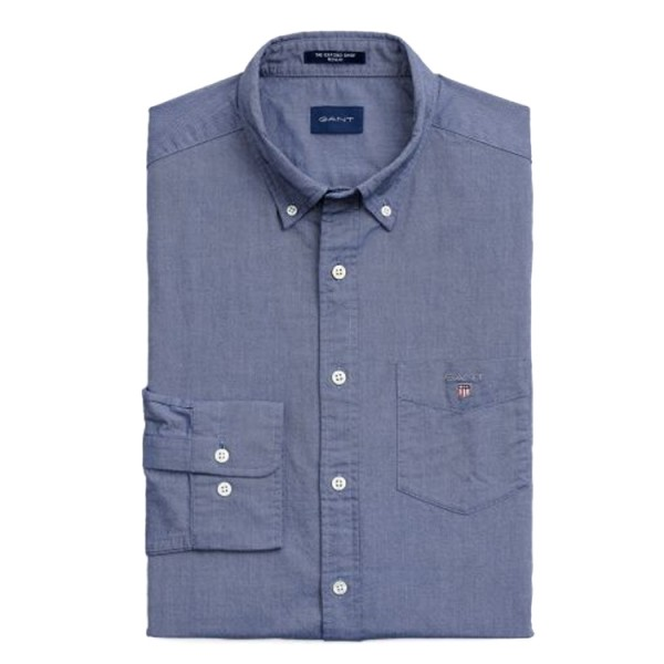 Gant Oxford Overhemd Persian Blue