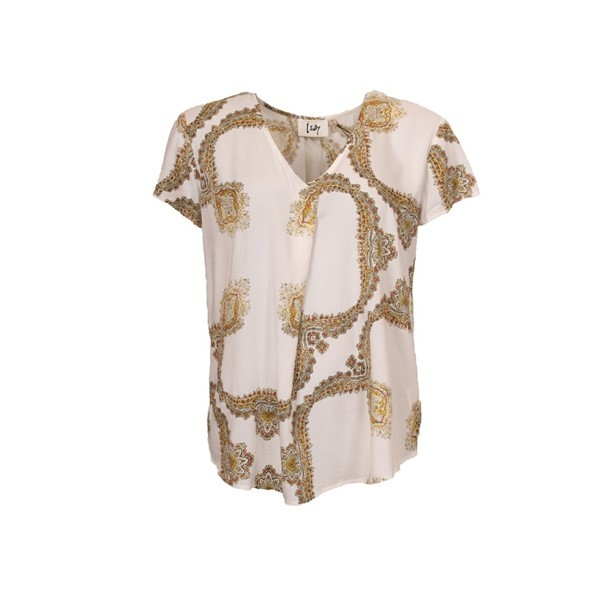I Say Annica Blouse Golden Paisley