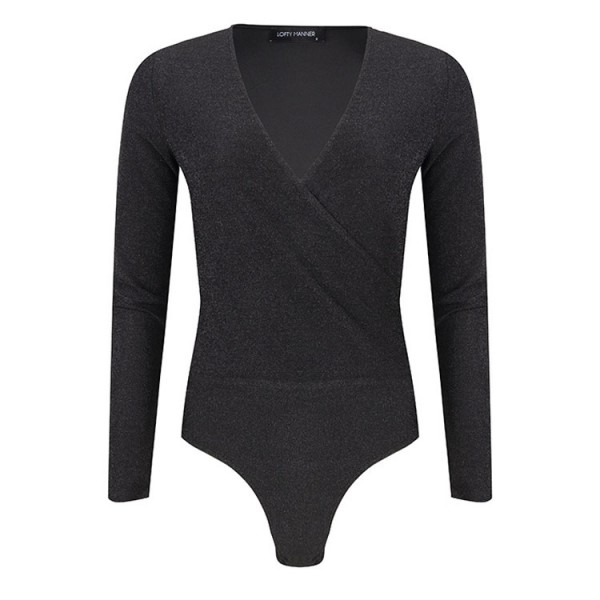 Lofty Manner Lilou Bodysuit Zwart