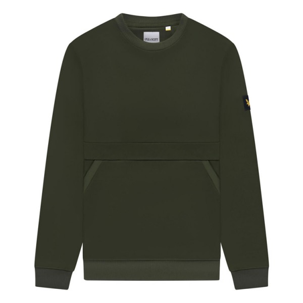 Lyle & Scott Glans Sweatshirt ML1425V Groen