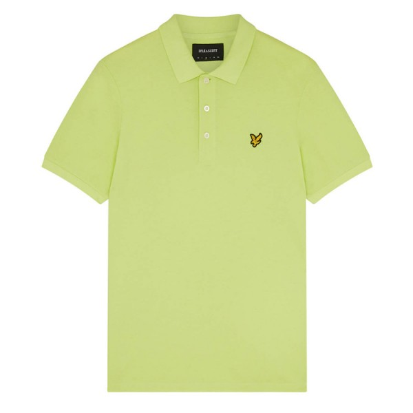 Lyle & Scott Polo Korte Mouw SP400VTR Sharp Green