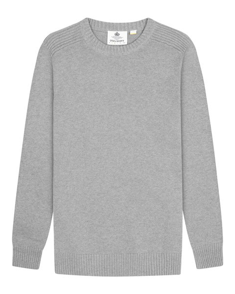 Lyle and Scott Crewneck Trui Grijs