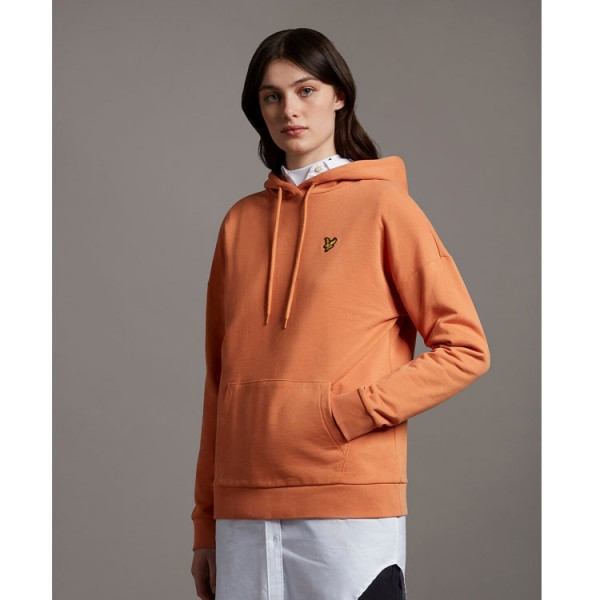 Lyle and Scott Dames Hoodie Sweater MLW1201V Oranje