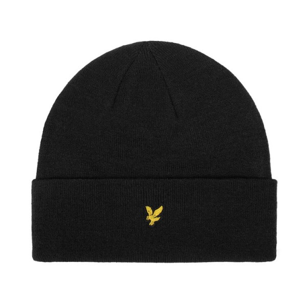 Lyle and Scott Muts Beanie Zwart
