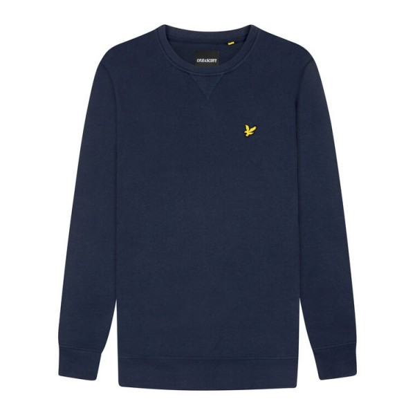 Lyle and Scott Sweatshirt Crew Neck Blauw