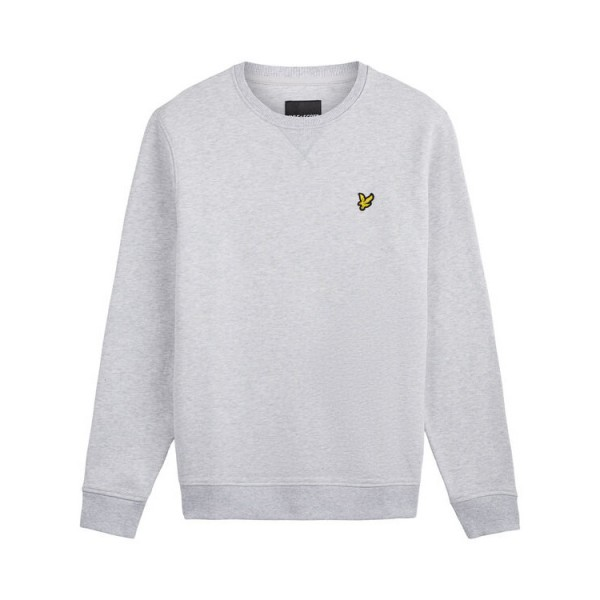 Lyle and Scott Sweatshirt Crew Neck Grijs