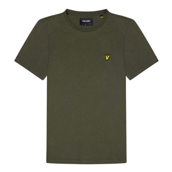 Lyle and Scott T-Shirt Crew Neck Groen