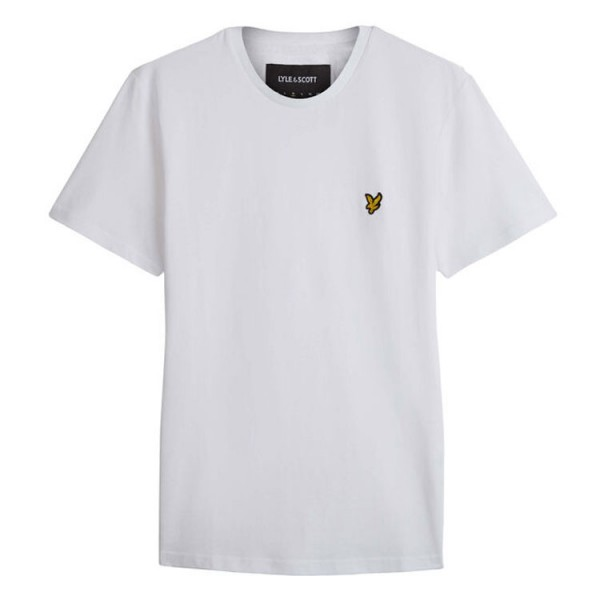Lyle and Scott T-Shirt Crew Neck Wit
