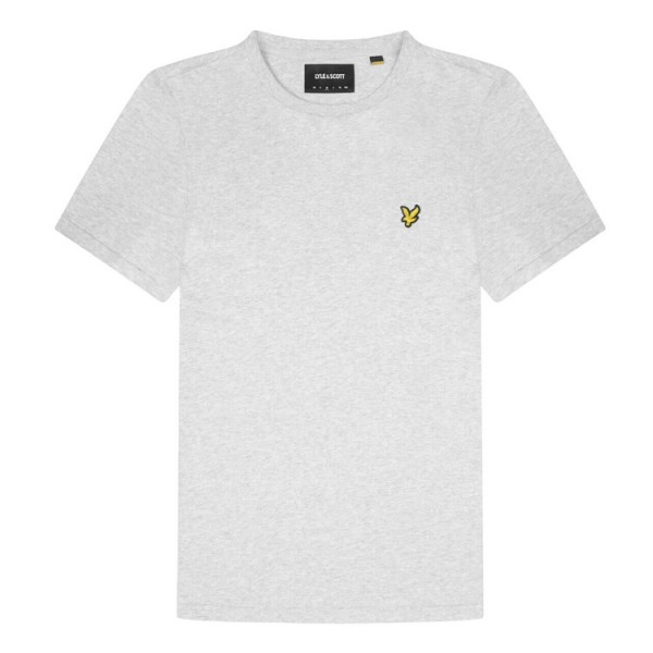 Lyle and Scott T-Shirt Ronde Hals LichtGrijs