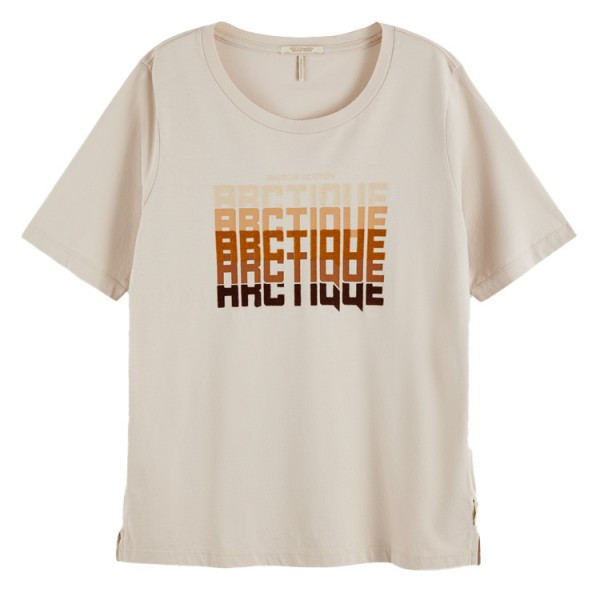 Scotch Dames Relaxed Fit Tshirt IceWhite