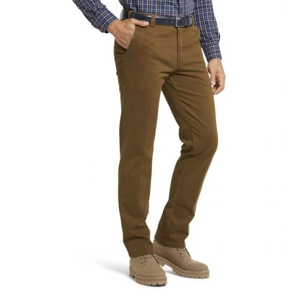 Meyer Chino Broek Bonn Heren Caramel