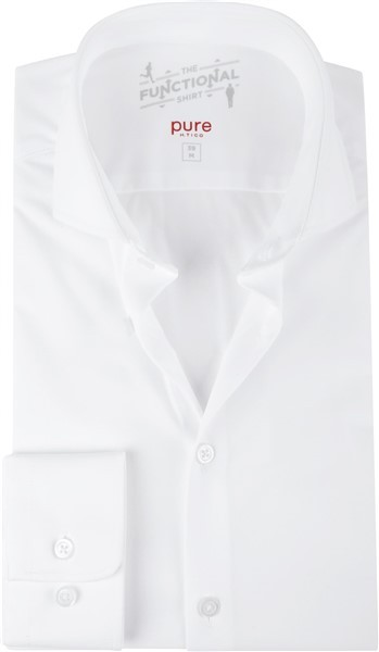 Pure Running Dress Shirt Wit