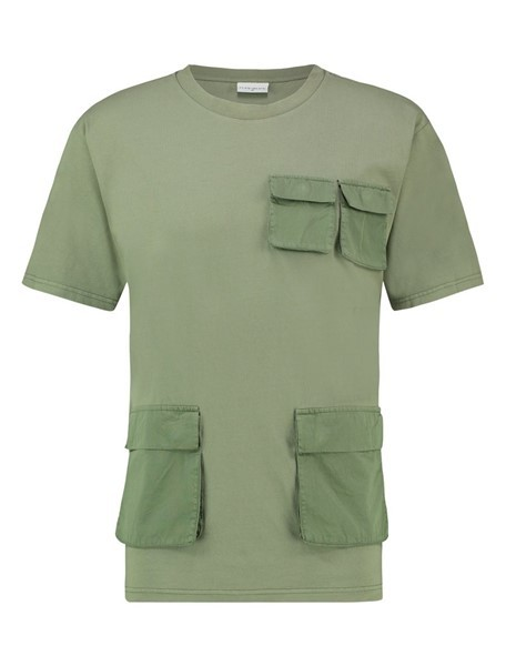 Pure White Utility T-shirt Army Green
