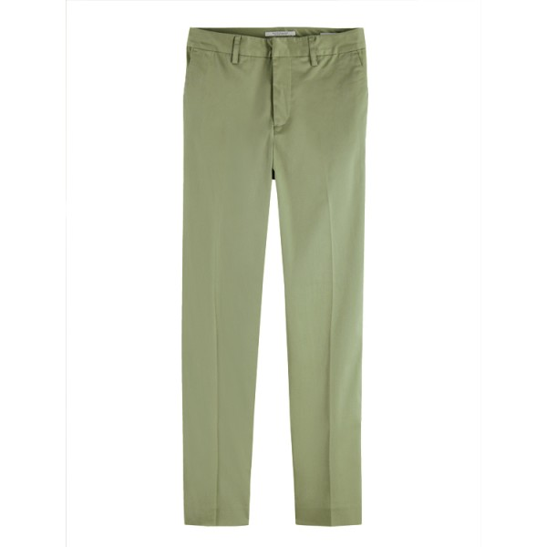 Scotch Dames Slim-Fit Bell 161774 Chino Groen