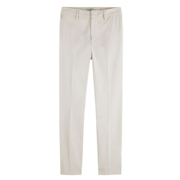 Scotch Dames Slim-Fit Bell 161774 Chino Off White