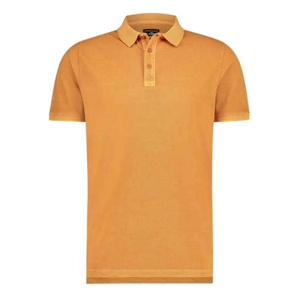 State Of Art Modern Fit Polo Korte Mouw 11580 Oranje