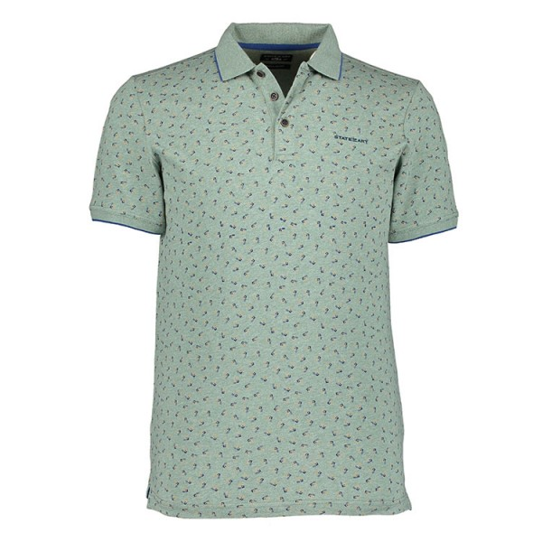 State of Art Jersey Polo Groen