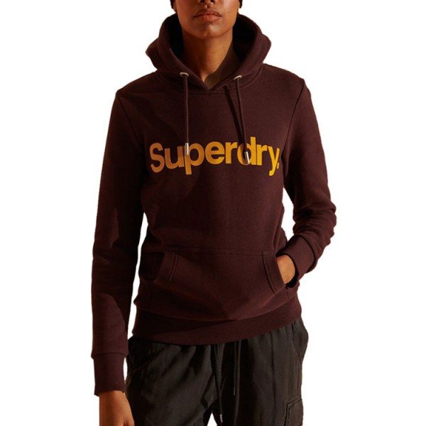 Superdry Hooded Sweater Bordeaux