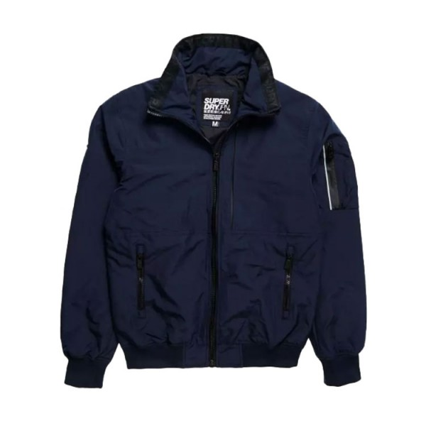 Superdry Light Bomber Jack Blauw
