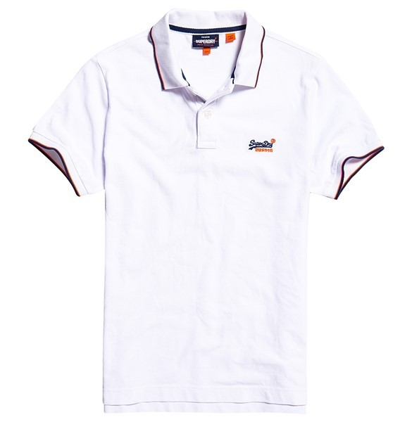 Superdry Polo Poolside Wit