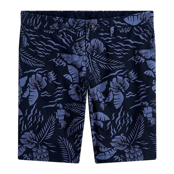 Tommy Hilfiger Hawaii Short Blauw