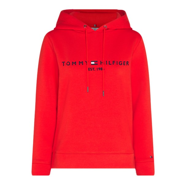 Tommy Hilfiger Hooded Sweater 26410 Rood