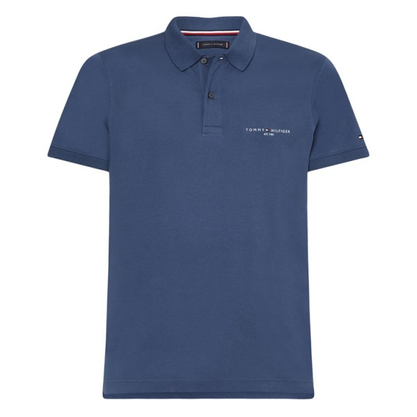 Tommy Hilfiger Jersey Polo 18282 Faded Blue