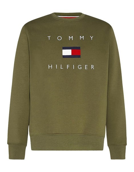 Tommy Hilfiger Logo Sweater 14204 Army