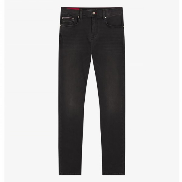 Tommy Hilfiger Slim Fit Jeans Antraciet Grijs