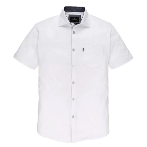 Vanguard Short Sleeve Jersey Shirt Wit