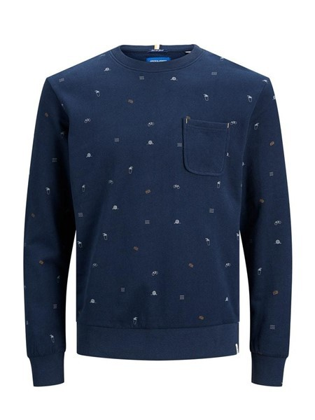 Jack & Jones Trips Sweat 12178126 Blauw