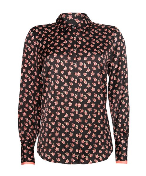 Scotch Dames Bloemprint Blouse 158871 Rood
